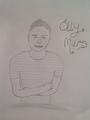 Olly Murs Drawing