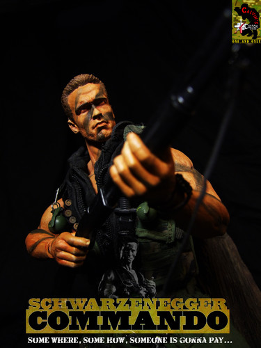 One sixth custom Arnold figure