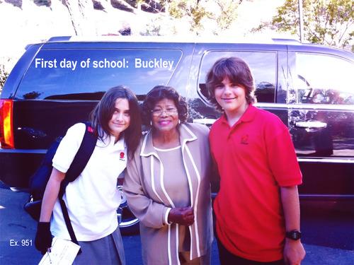 Paris Jackson, Katherine Jackson and Prince Jackson ♥♥