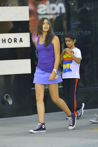 Paris Jackson and her brother Blanket Jackson ♥♥