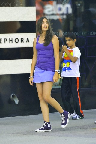 Paris Jackson wallpaper probably with a tennis player called Paris Jackson and her brother Blanket Jackson ♥♥