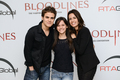 Paul and Torrey with fans in Brasil - paul-wesley-and-torrey-devitto photo
