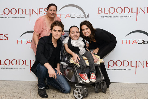 Paul and Torrey with fans in Brasil