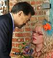 Penelope Garcia and David Rossi