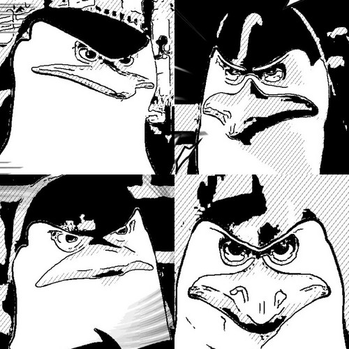 Penguins anime