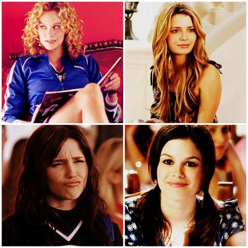 Peyton Sawyer ★ Brooke Davis ★ Marissa Cooper ★ Summer Roberts