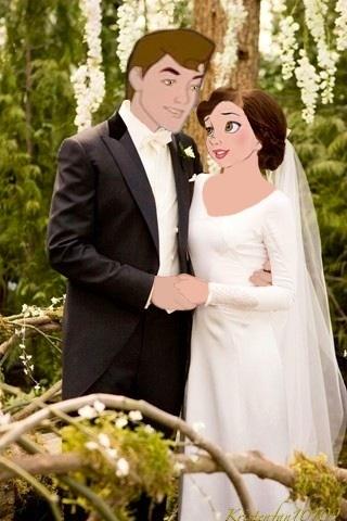 Phillip & Belle as Edward & Bella