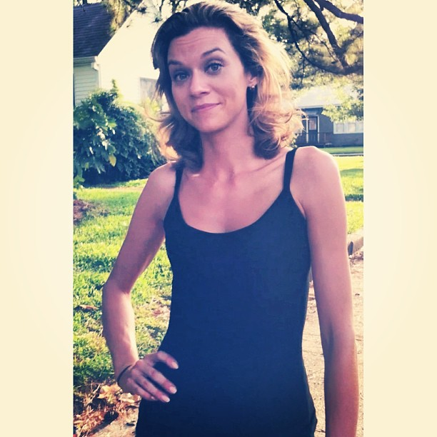 Hilarie Burton on instagram