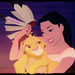 Pocahontas and Simba