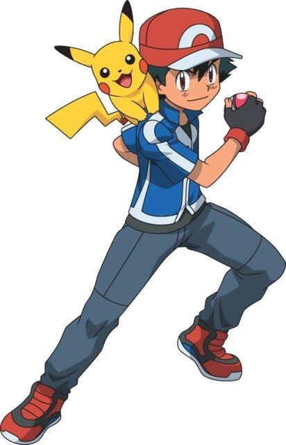 Pokemon XY: Ash Ketchum !!!