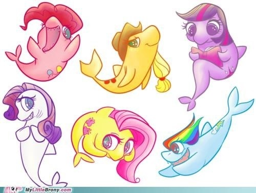gppony, pony Sharks