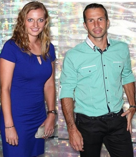 Pretty Kvitova and ugly Stepanek :-) !