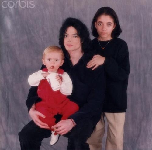 Prince Jackson, Michael Jackson and Omer Bhatti ♥♥