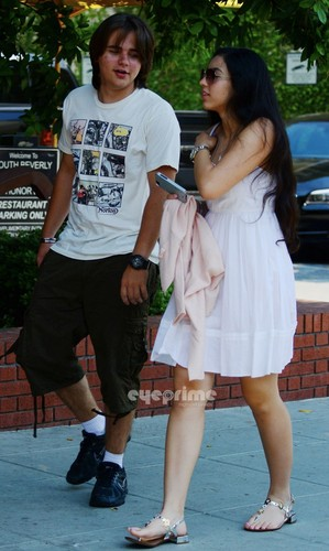 Prince Jackson and Remi Alfalah in Calabasas New June 2013 ♥♥