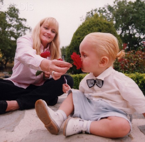 Prince Jackson's mother Debbie Rowe and Prince Jackson ♥♥