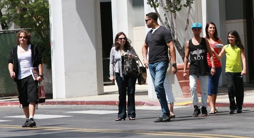 Prince Jackson with Blanket Jackson and Omer Bhatti in Calabasas New June 2013 ♥♥