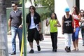 Prince Jackson with Blanket Jackson and Omer Bhatti in Calabasas New June 2013 ♥♥ - prince-michael-jackson photo
