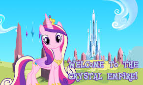 Princess Cadance achtergrond