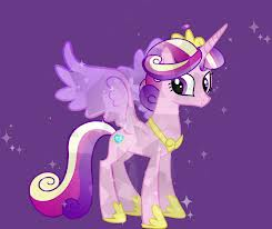 my little pony friendship is magic wallpaper possibly containing anime called Princess Cadence