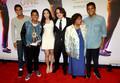 Randy Jackson Jr, Jermajesty Jackson, Remi Alfalah, Prince, Katherine Jackson and Donte Jackson 2013