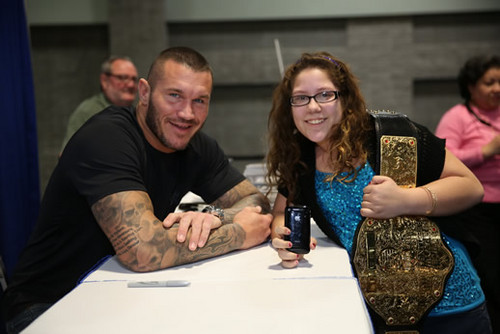 Randy Orton February 6th, 2013 - Washington Auto প্রদর্শনী