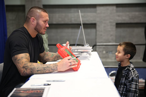Randy Orton February 6th, 2013 - Washington Auto mostra