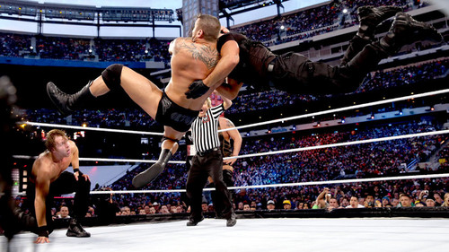 Randy Orton wallpaper possibly with a vaulter and a gymnast titled Randy Orton