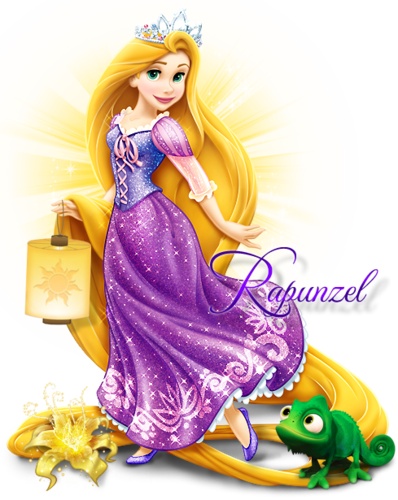 Disney Princess wolpeyper probably with a bouquet and a kaktel dress titled Rapunzel