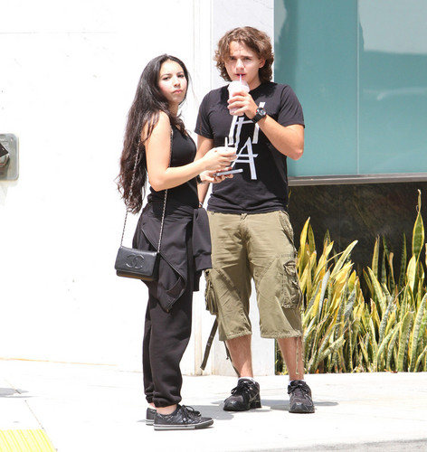 Remi Alfalah and Prince Jackson in Calabasas New June 2013 ♥♥