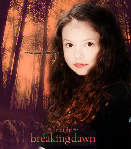 renesmee carlie cullen wallpaper probably with a sunset called Renesmee poster