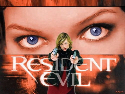 Resident Evil Movie 壁纸 with a portrait entitled Resident Evil
