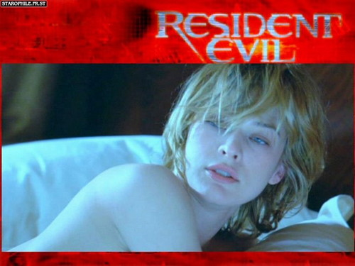 Resident Evil Movie wallpaper possibly with a neonate called Resident Evil