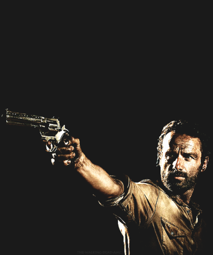 Rick Grimes - Season 4 - the-walking-dead Fan Art