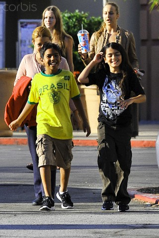 Royal Jackson and his cousin Blanket Jackson ♥♥