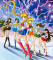Sailor Moon and Scouts ♥