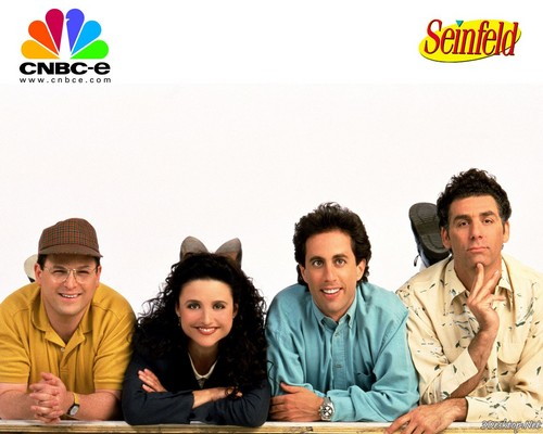 Memorable TV wallpaper possibly containing a sign called Seinfeld ★
