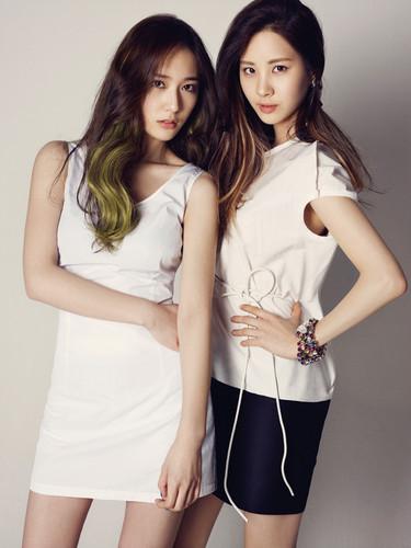 Seohyun with Krystal <3333~