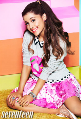ariana grande wallpaper entitled Seventeen Magazine