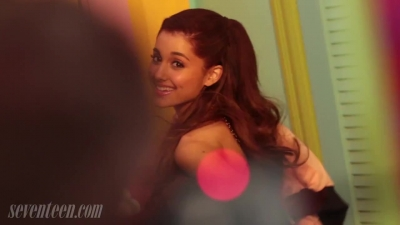Seventeen Magazine talks with Ariana Grande