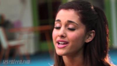 Seventeen Magazine talks with Ariana Grande