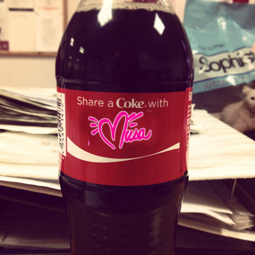 Share a Coca-Cola with Winx