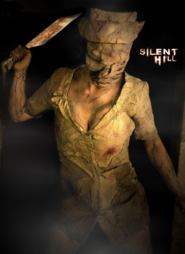 Silent Hill wallpaper possibly containing a cleaver and a machete titled Silent Hill Nurse