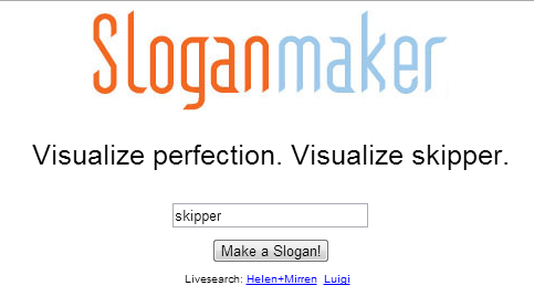 Slogan makers smart