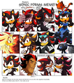 Sonic Forms Meme - shadow-the-hedgehog fan art