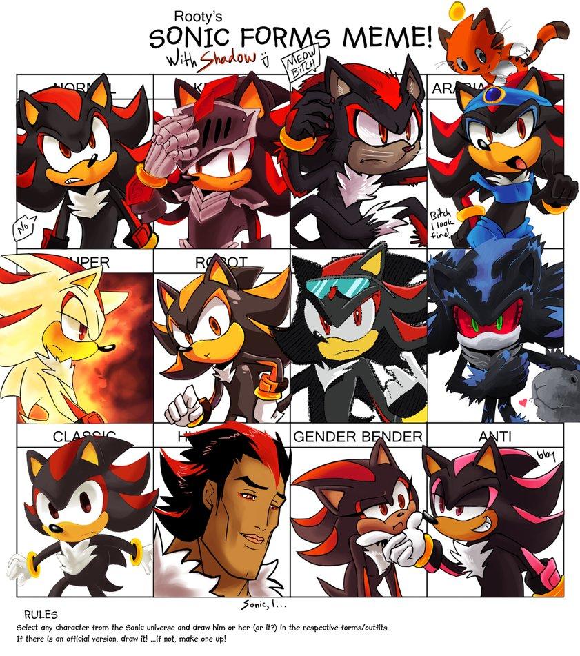 Sonic Forms Meme