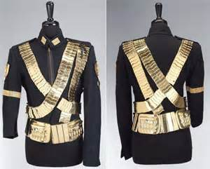 "Stage Costume From The detik Leg Of ""Dangerous Tour"