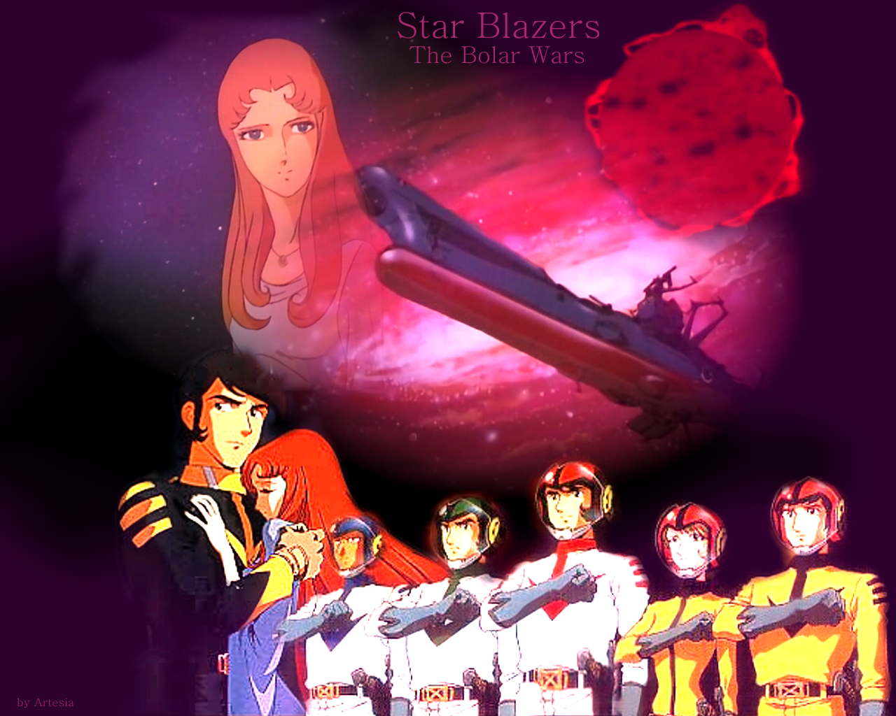 Star Blazers - The Polar Wars - Anime Wallpaper (34823401 ...