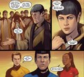 Star Trek ongoing #21 - spock-and-uhura photo