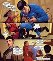 Star Trek ongoing #22 - spock-and-uhura photo