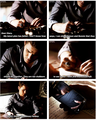 Stefan the fanboy XD  - damon-and-bonnie fan art